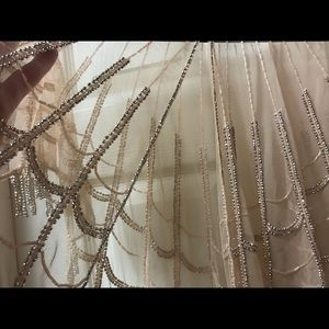 Vintage style beaded cape